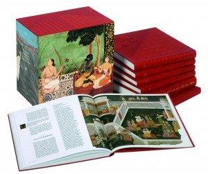 COMMUNIQUÉ DE PRESSE des Editions Diane de Selliers sur le Ramayana de Valmiki, chef-d'œuvre de la littérature indienne dans Livre ancien : Ramayana Ramayana_Coffret-300x251